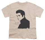 Youth: Elvis Presley - Black Paint T-Shirt