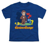 Youth: Curious George - Who Me T-shirts