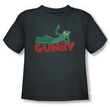 Toddler: Gumby - On Logo T-Shirt