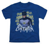 Youth: Batman Classic TV - Theme Song T-Shirt