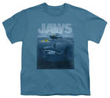 Youth: Jaws - Silhouette Shirts