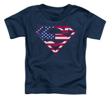 Toddler: Superman - US Shield T-Shirt