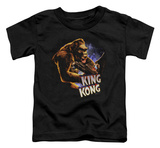 Toddler: King Kong - Kong And Ann T-shirts