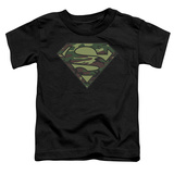 Toddler: Superman - Camo Logo Shirts