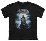 Youth: Batman Arkham Asylum - Game Cover T-Shirt