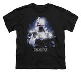 Youth: Battlestar Galactica - 35th Anniversary Cylon Shirts