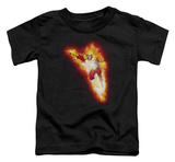Toddler: Justice League - Firestorm Blaze T-shirts