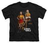 Youth: 2 Broke Girls - Max & Caroline Shirt