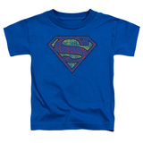 Toddler: Superman - Tattered Shield Shirts