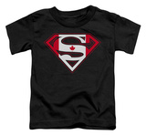 Toddler: Superman - Canadian Shield T-Shirt