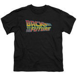 Youth: Back To The Future - Logo Shirt