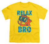 Youth: Garfield - Relax Bro T-Shirt