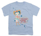 Youth: Betty Boop - Hot And Spicy Cowgirl T-shirts