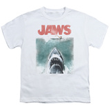 Youth: Jaws - Vintage Poster T-Shirt