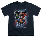 Youth: Justice League - The Coming Storm T-Shirt