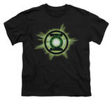 Youth: Green Lantern - Green Glow Shirts