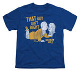 Youth: King Of The Hill - Boy Aint Right T-shirts