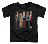 Toddler: Star Trek - The Captains T-Shirt
