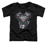 Toddler: Superman - V Twin Logo Shirts