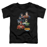 Toddler: Justice League - Group Portrait T-shirts