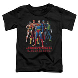 Toddler: Justice League - In League T-Shirt