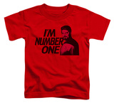 Toddler: Star Trek - Im Number One T-shirts