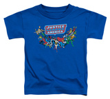 Toddler: Justice League - Here They Come Shirts