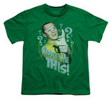 Youth: Batman Classic TV - Riddle Me This T-Shirt