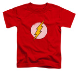 Toddler: The Flash - Rough Flash Logo Shirts