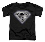 Toddler: Superman - Bling Shield T-Shirt