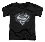 Toddler: Superman - Biker Metal Shirts