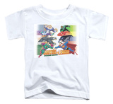 Toddler: Justice League - Evildoers Beware T-shirts