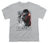 Youth: Elvis Presley - Black Leather T-shirts
