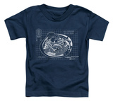 Toddler: Star Trek - Bridge Prints T-Shirt