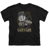 Youth: Garfield - Lazy 4 Life T-Shirt