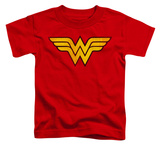 Toddler: Wonder Woman - Wonder Woman Logo Dist T-shirts