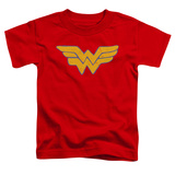 Toddler: Wonder Woman - Rough Wonder T-shirts