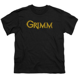Youth: Grimm - Gold Logo Shirts