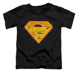 Toddler: Superman - Hot Steel Shield T-shirts