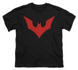 Youth: Batman Beyond - Beyond Bat Logo T-Shirt