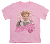Youth: I Love Lucy - Tastes Like Candy T-shirts