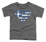 Toddler: Superman - Greek Shield T-Shirt