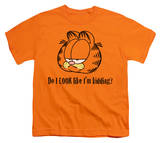 Youth: Garfield - Do I Look Like I'm Kidding T-Shirt