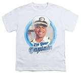 Youth: Love Boat - I'm Your Captain T-shirts