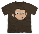 Youth: Curious George - George Face Shirts