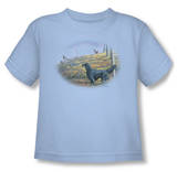 Toddler: Wildlife - Looking Back T-shirts