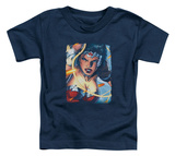 Toddler: Wonder Woman - Scowl Shirts