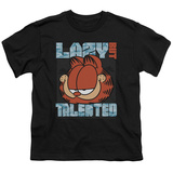Youth: Garfield - Lazy But Talented T-Shirt