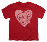 Youth: Archie Comics - Betty Hearts T-Shirt