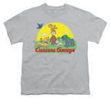 Youth: Curious George - Sunny Friends T-shirts